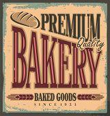 Bakery Metal Sign