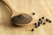 Powdered Black Pepper