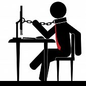 Chained to office