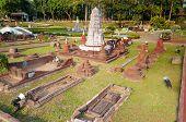 Wat Ratburana In Mini Siam Park