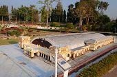 Bangkok Railroad Station In Mini Siam Park