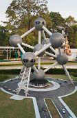 Atomium In Mini Siam Park
