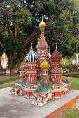 St. Basil In Mini Siam Park