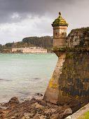 Ferrol, Spain - February 08: San Felipe And La Palma Castles On February 08 , 2014, In Ferrol, Spain