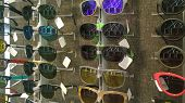 Store With Different Sunglasses Models