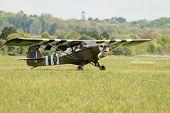 Vintage Piper Cub Aircraft