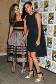 SAN DIEGO - JUL 26:  Jessica Alba, Rosario Dawson at the