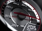 2015 Year Car Speedometer