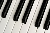 Black And White Piano Keys