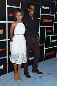 SAN DIEGO - JUL 26:  Nicole Beharie, Orlando Jones at the Emtertainment Weekly Party - Comic-Con Int