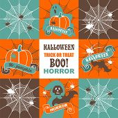 ������, ������: Halloween Set Of Illustrations