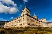 Full View Of The Royal Site In San Lorenzo De El Escorial