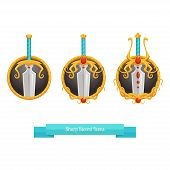 Sharp Sword Icons