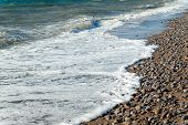 Foamy Sea Wave