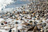 Beach, Sea Pebbles