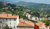 Grasse - Panoramic View Of Grasse Town