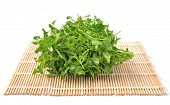 Watercress  On Bamboo