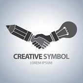 Creative And Idea Symbol
