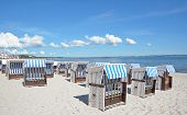 Beach of Binz,Ruegen Island,Germany