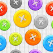 Clothing buttons pattern.