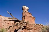 Lighthouse Peak In Palo Duro Canyon