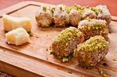 Meat Rolls With Pistacchio