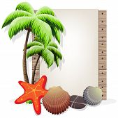 Tropical Vacation Background