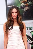 LOS ANGELES - AUG 3:  Megan Fox at the Teenage Mutant Ninja Turtles Premiere at the Village Theater