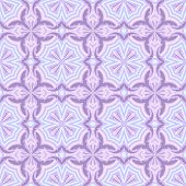 Seamless purple and pink abstract floral vector background.