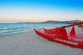 Lifeboat At Dawn