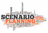 Word Cloud Scenario Planning