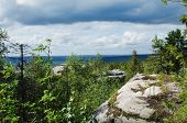 image of ural mountains  - Kind from mountain top - JPG