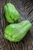 The Chayote (sechium Edule) Is A Vegetable