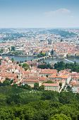 Prague Skyline From Petrin Tower
