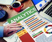 Analytics Businessman Working Calculating Balance Thinking Planning Paperwork Concept