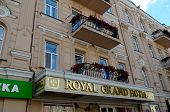 Royal Grand hotel on Bogdan Khmelnitsky Street