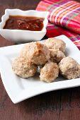 Meatballs And Plum Chutney