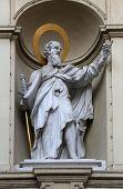 VIENNA, AUSTRIA - OCTOBER 10: St. Paul the Apostle, Church of Saint Peter in Vienna, Austria on October 10, 2014.