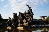 Sculptural Group Crossing Of The Dnieper, Kiev