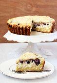 Creamy Cherry Coffee Cake