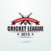 pic of cricket bat  - Cricket Championship League 2015 with bats and red ball - JPG