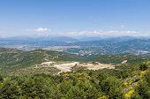 Tena Valley At Huesca, Spain
