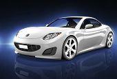 Comtemporary Car Elegance Vehicle Transportation Luxury Performance Concept