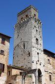 Devil Tower in San Gimignano