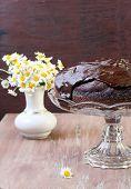 Zucchini Chocolate Cake With Chocolate Glaze