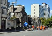 Christchurch Earthquake - Engineers Assess The Damage.