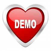 demo valentine icon