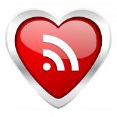 rss valentine icon
