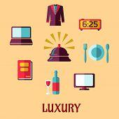 Luxury Hotel Flat Concept