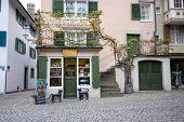 Zurich, Switzerland - April 19, 2014: Lea Kray Joyjewels Boutique In Zurich On April 19, 2014. Lea K